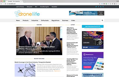 DroneLife website