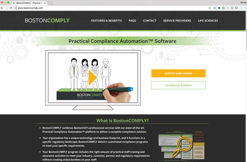 BostonCOMPLY Website