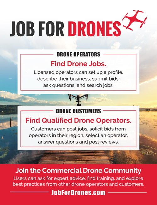 JobForDrones Print Ad