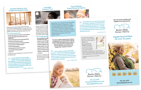 Trifold Promotional Brochure Design