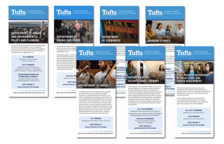 Tufts University GSAS Trifold Brochures