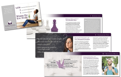 Your Education Story Booklet