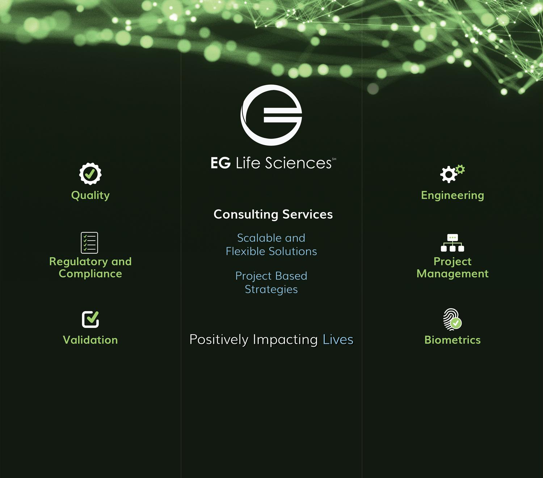 EGLS 3 panel trade show display