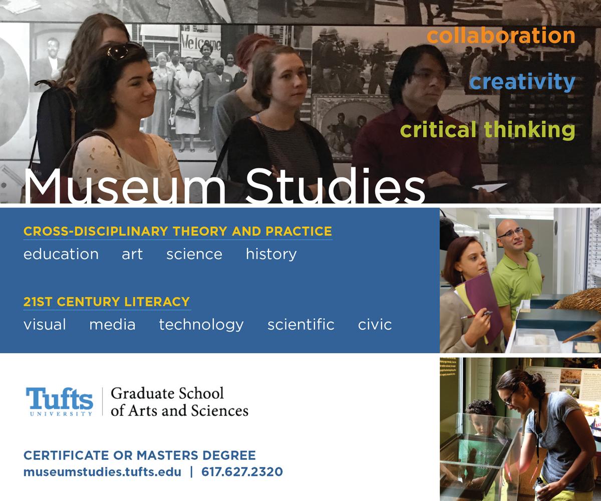 Museum Studies at Tufts Print Ad