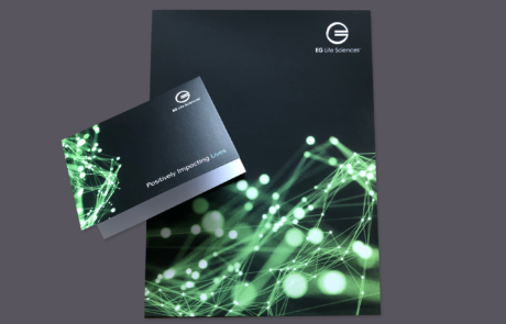 Marketing Folder and Notecard Design