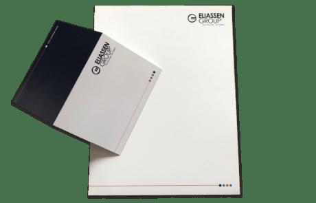 Branding Marketing Folder and Notecard