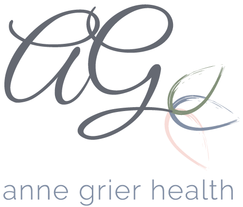 Anne Grier Health Logo Design