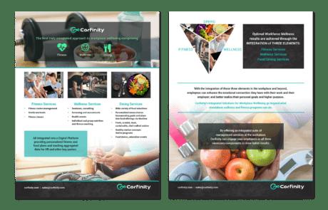 Corfinity Marketing Sell Sheet
