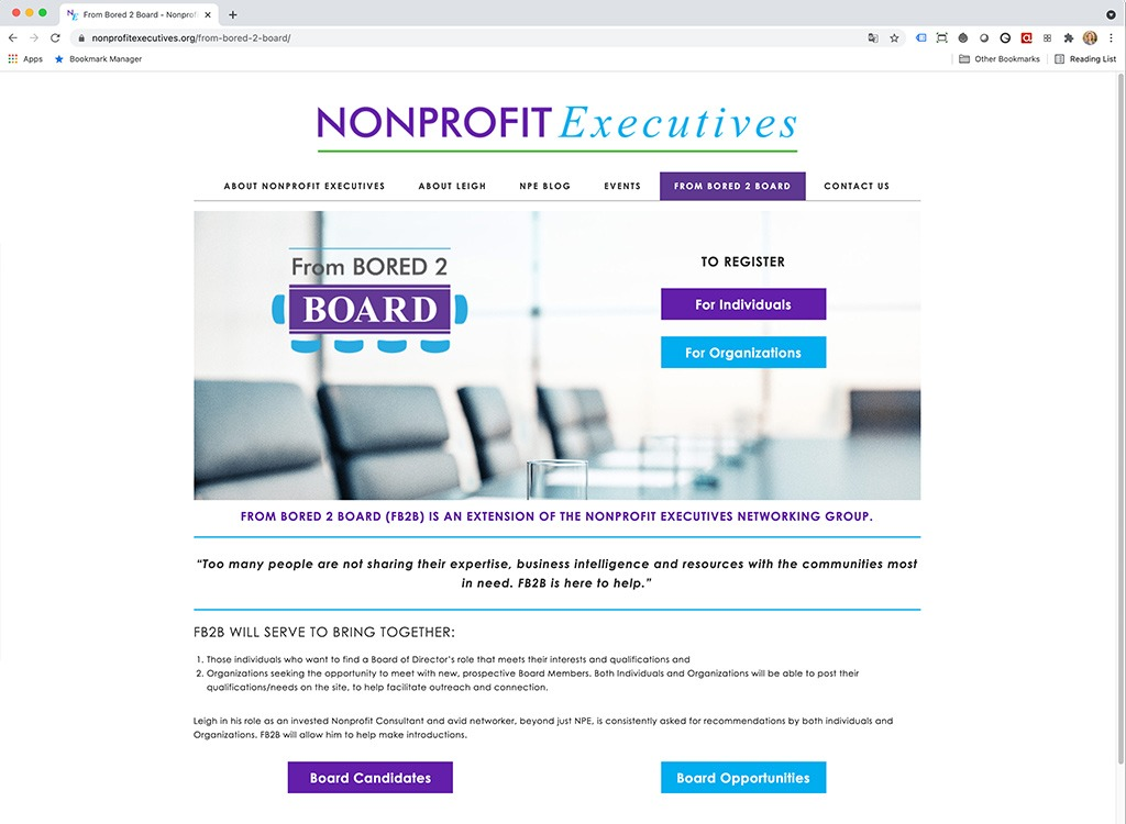 Nonprofit Executives